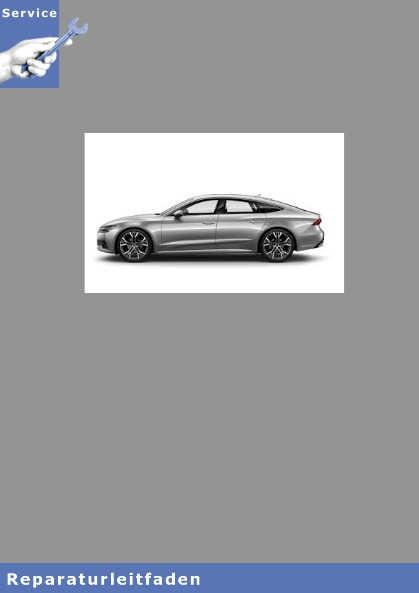 Audi A7,  7-Gang Doppelkupplungsgetriebe 0CJ, 0CK, 0HL - Reparaturleitfaden