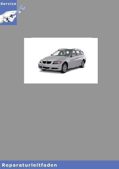 BMW 3er E91 (05-13) M57 Diesel Motor und Motorelektrik
