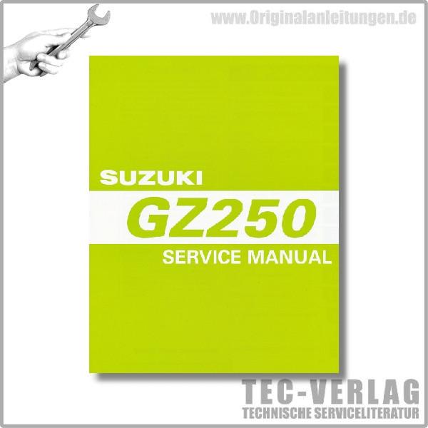 Suzuki GZ250 (00-06) - Service Manual