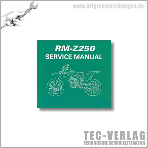 Suzuki RM-Z250 (10) - Service Manual - CD