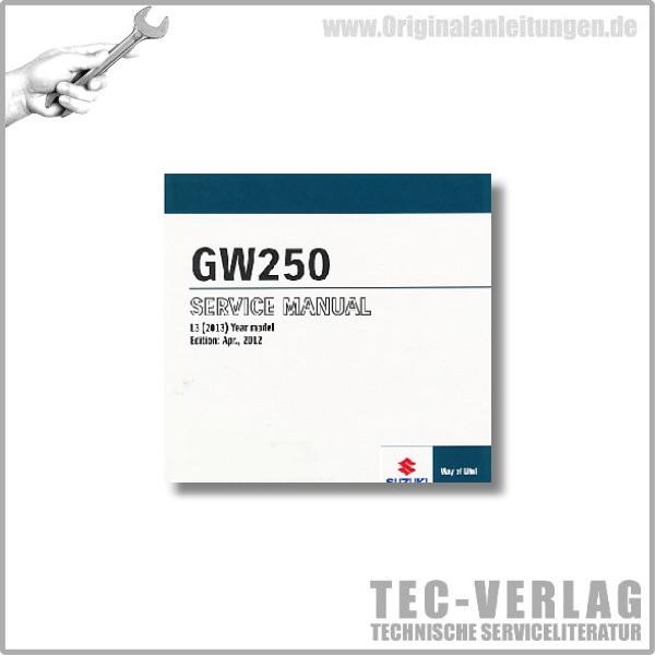 Suzuki GW250 (13) - Wartungsanleitung - CD
