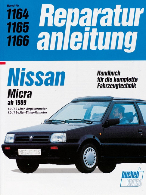 Nissan Micra (89>) - Reparaturanleitung