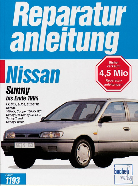 Nissan Sunny N14 (90-94) - Reparaturanleitung