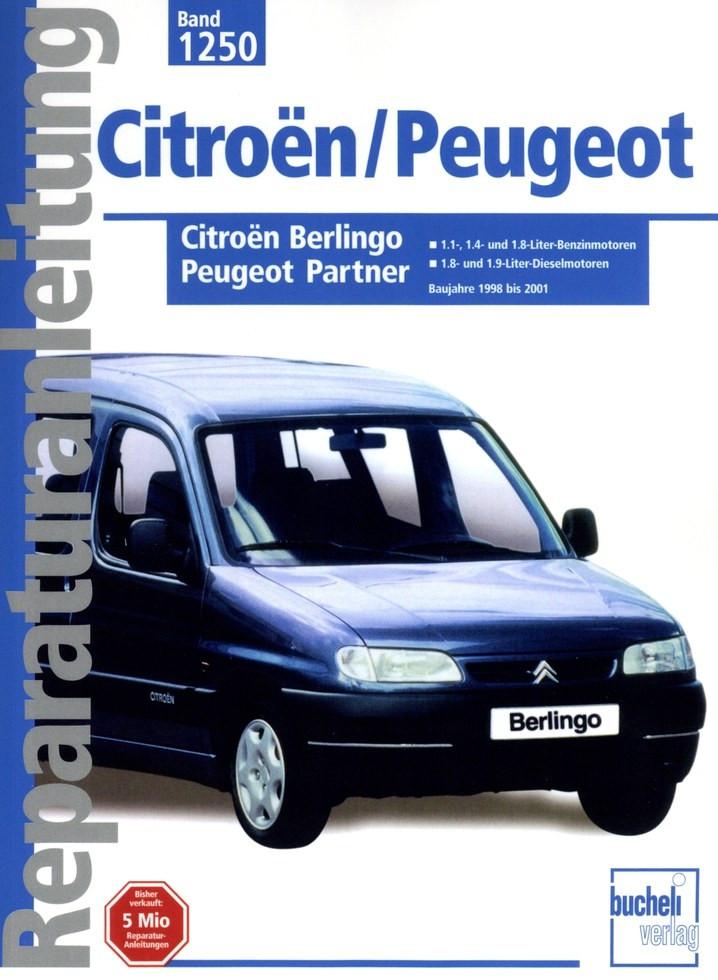 Citroën Berlingo / Peugeot Partner (1998-2001) - Reparaturanleitung