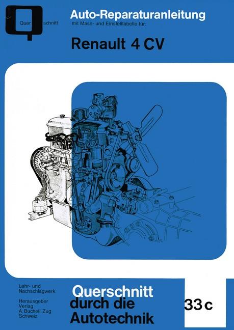 Renault 4 CV- Reparaturanleitung