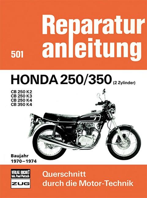 Honda CB 250 / 350 K2 / K3 / K4 (70-74) - Reparaturanleitung