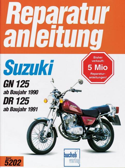Suzuki GN 125 (90>) / DR 125 (91>) - Reparaturanleitung