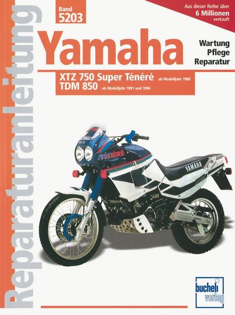 Yamaha XTZ 750 Super Tenere / TDM 850- Reparaturanleitung