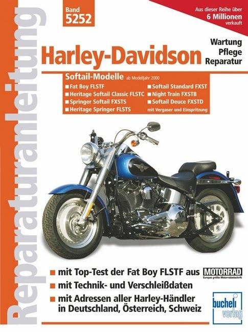 Harley Davidson Softail Modelle (00-04) - Reparaturanleitung/ Momentan nicht lieferbar