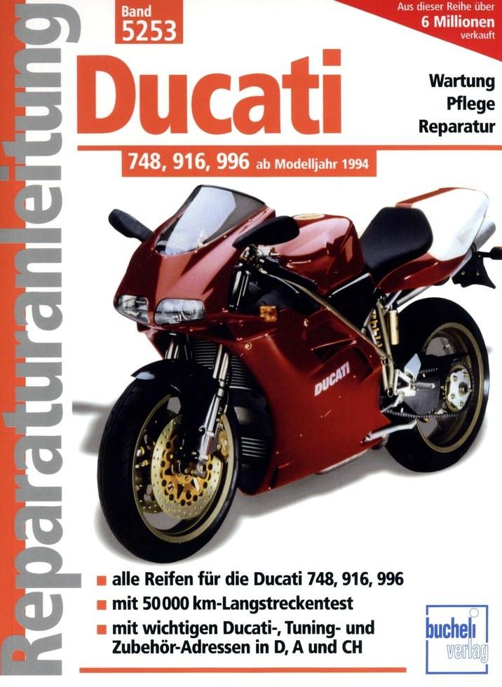 Ducati 748 / 916 / 996 (1994-2003) - Reparaturanleitung