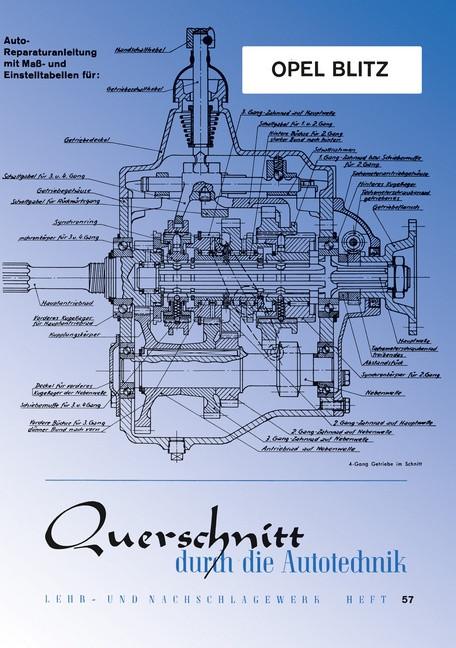 Opel Blitz- Reparaturanleitung