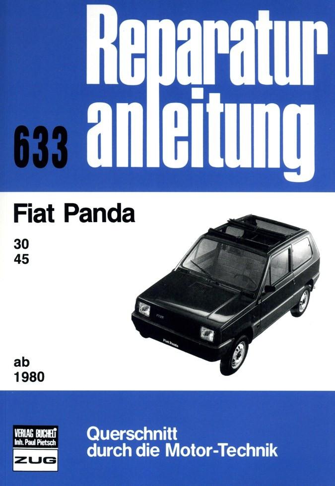 Fiat Panda 30 / 45 MK1 Typ 141 (1980-1986) - Reparaturanleitung
