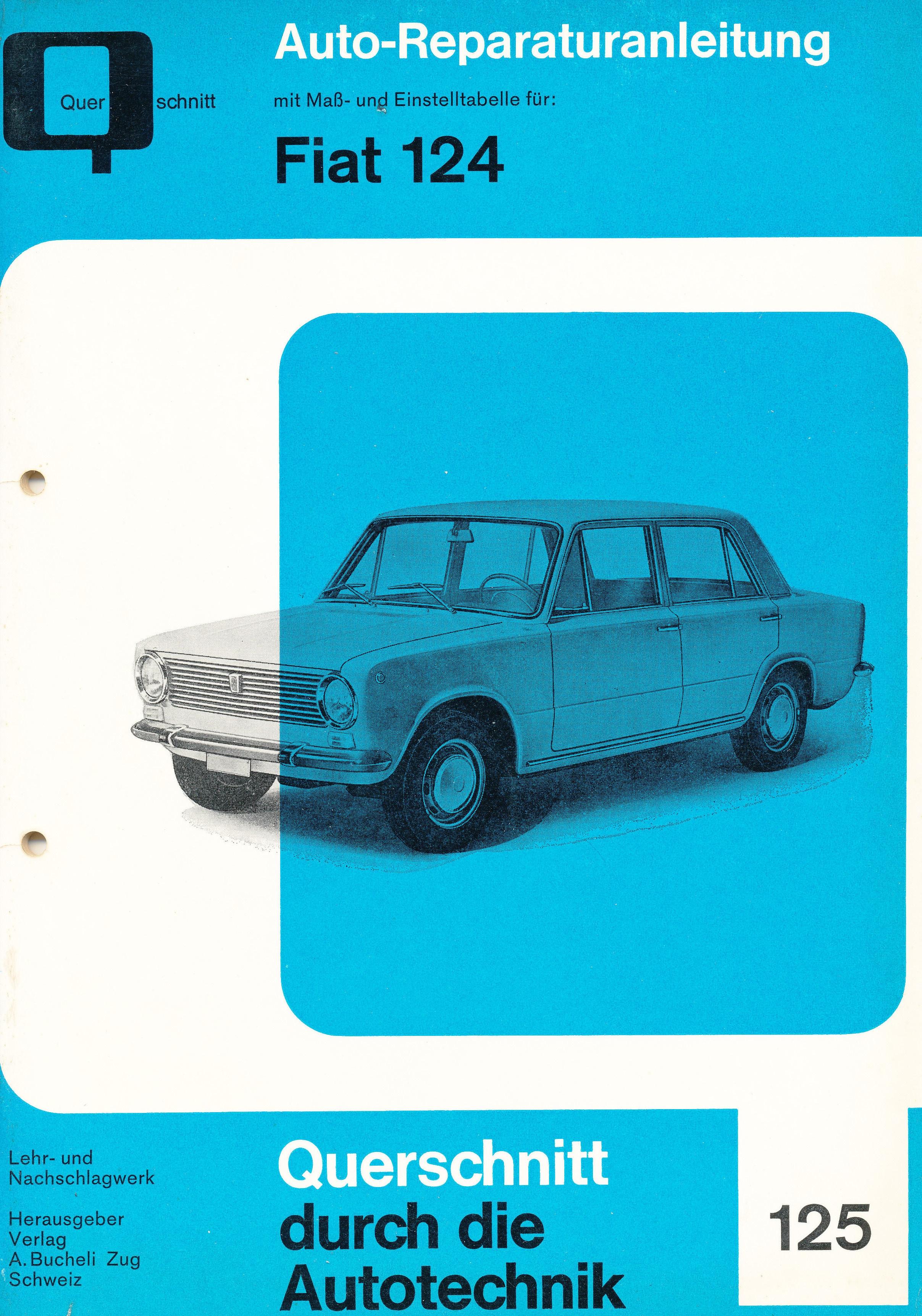 Fiat Reparaturanleitung