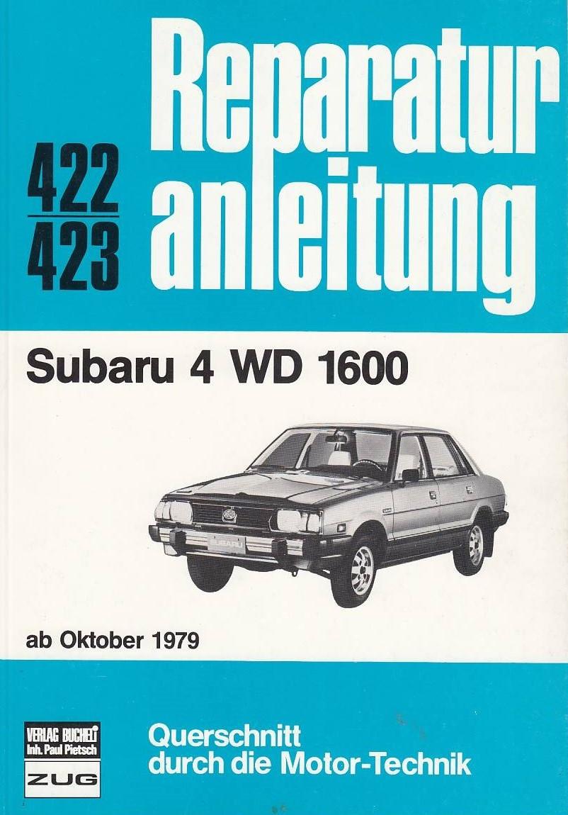 Subaru 4 WD 1600 (ab 10.1979) - Reparaturanleitung