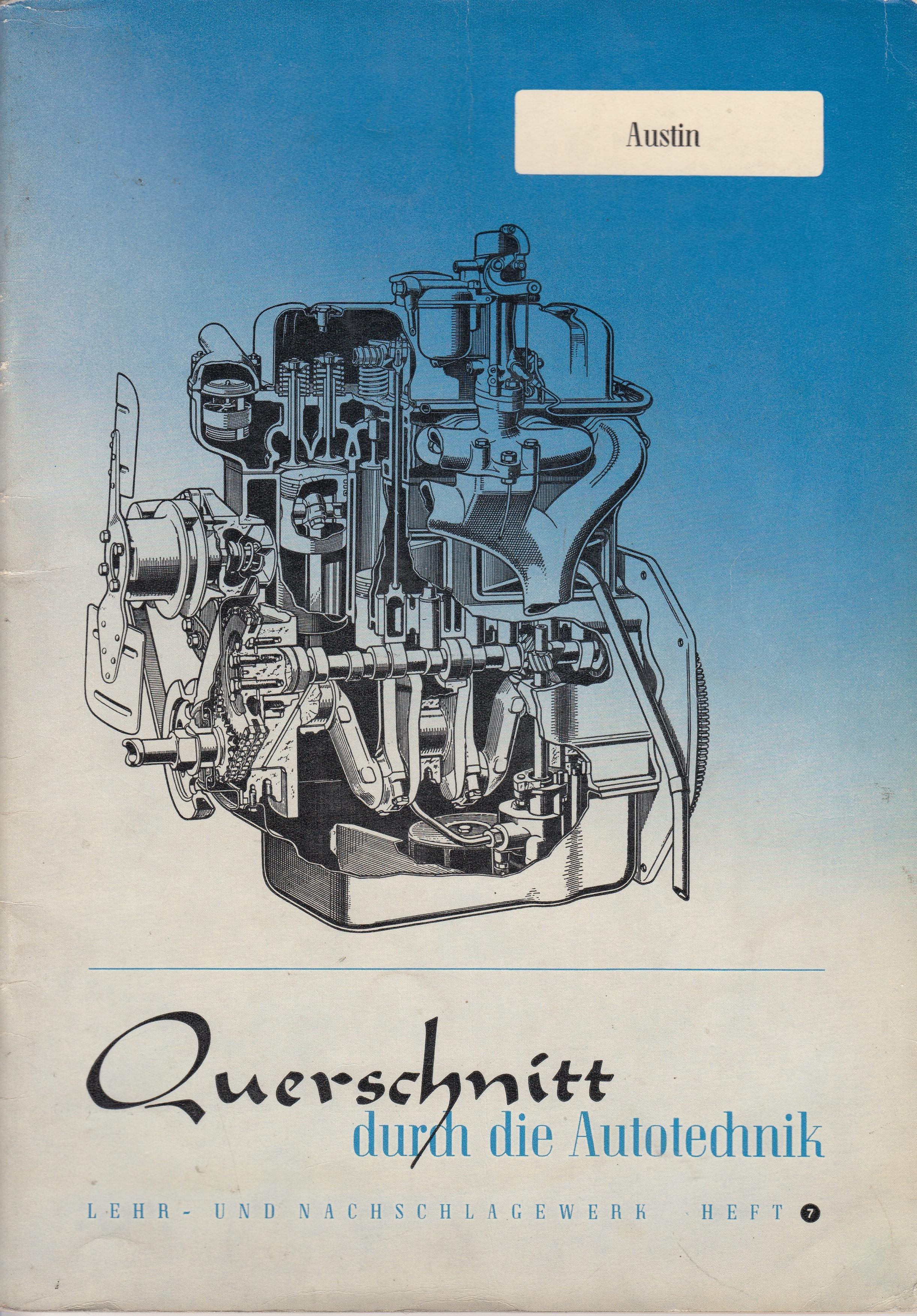 Austin A40 (47-52) - Reparaturanleitung