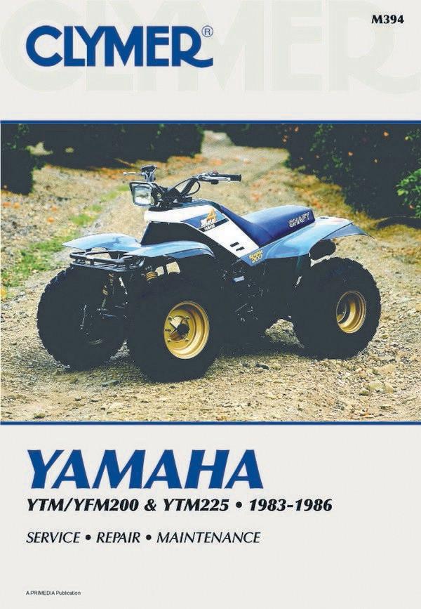 Yamaha YTM 200 / YTM 225 / YFM 200  (83-86) Clymer Repair Manual
