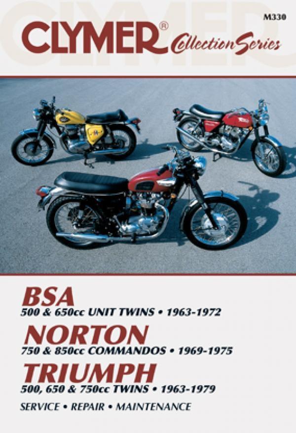 BSA / Norton Commandos / Triumph Twins 1963 1979) Repair Manual Clymer