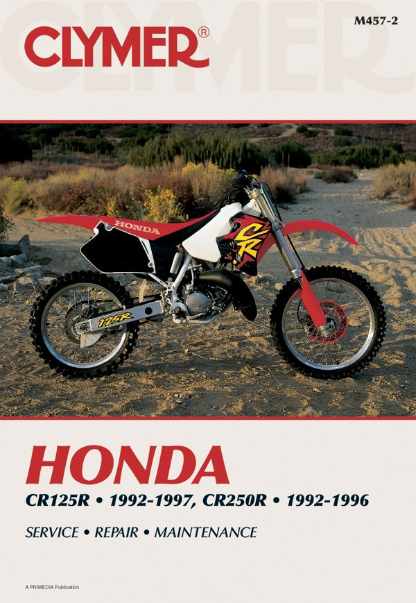 Honda CR125R & CR250R (92-97) Clymer Repair Manual