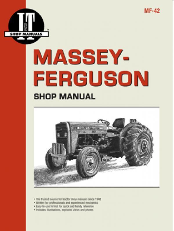 Massey Ferguson MF 230 / 235 / 240 / 245 / 250 Clymer Repair Manual