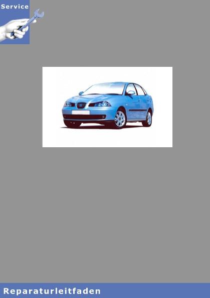 Seat Cordoba Typ 6L (02-08) 3-Zyl. Einspritzmotor (1,2l) - Reparaturleitfaden