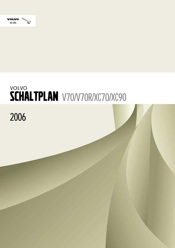 Volvo V70 Werkstatthandbuch Schaltpläne 2006