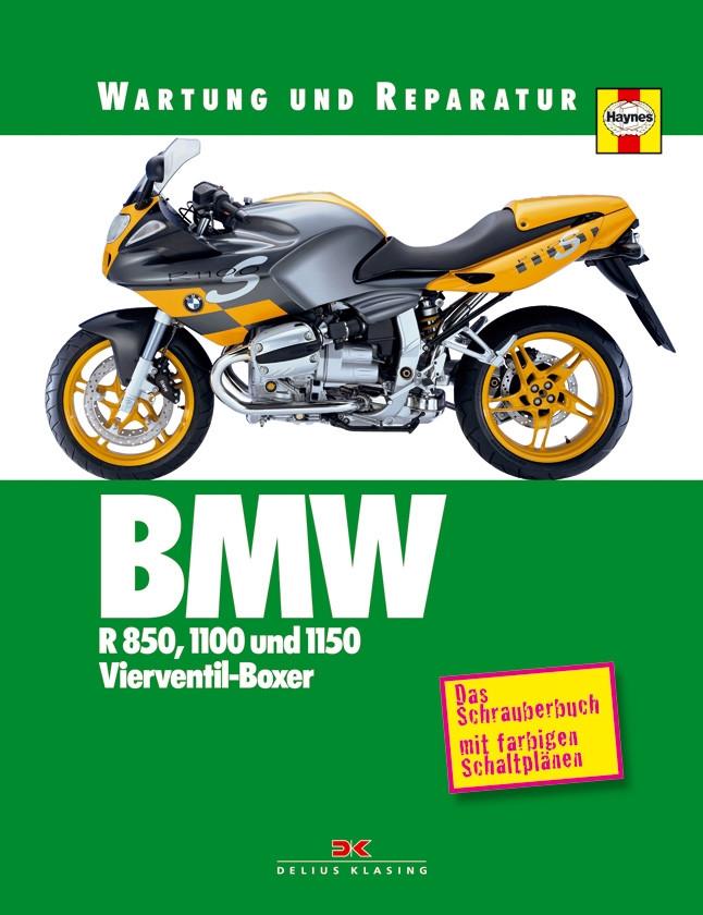 BMW R 850 / 1100 / 1150 R / GS / RS / S / RT Reparaturanleitung Wartung und Reparatur