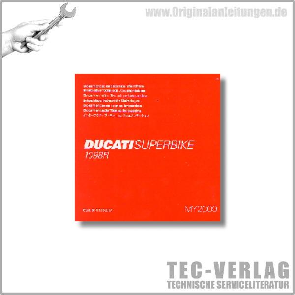 Ducati Superbike 1098 R - Werkstatthandbuch CD