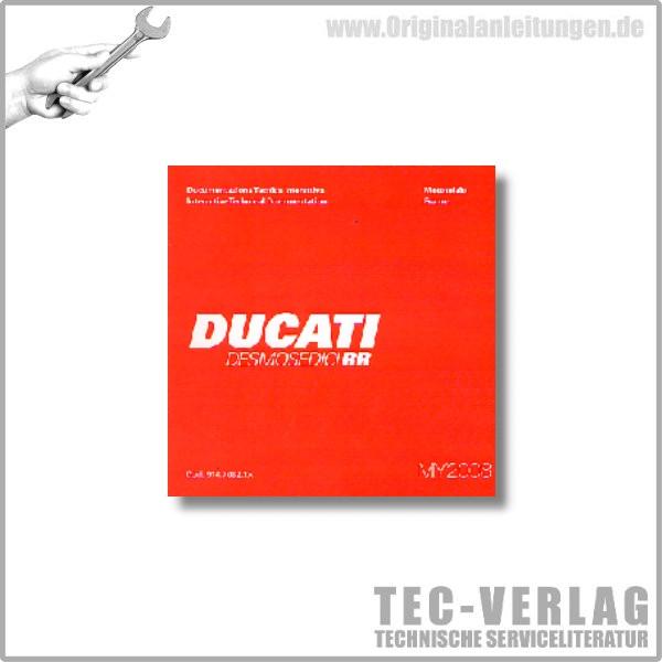 Ducati Desmosdici RR - Werkstatthandbuch CD
