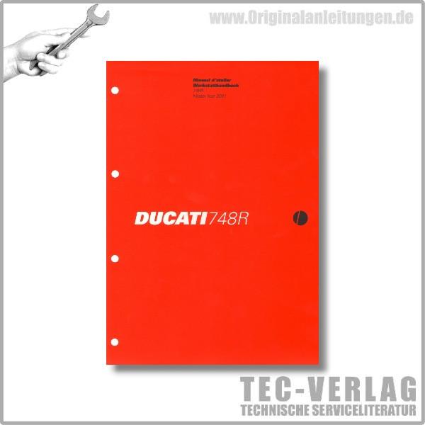 Ducati 748R (2001) - Werkstatthandbuch / Manuel d'ateliere
