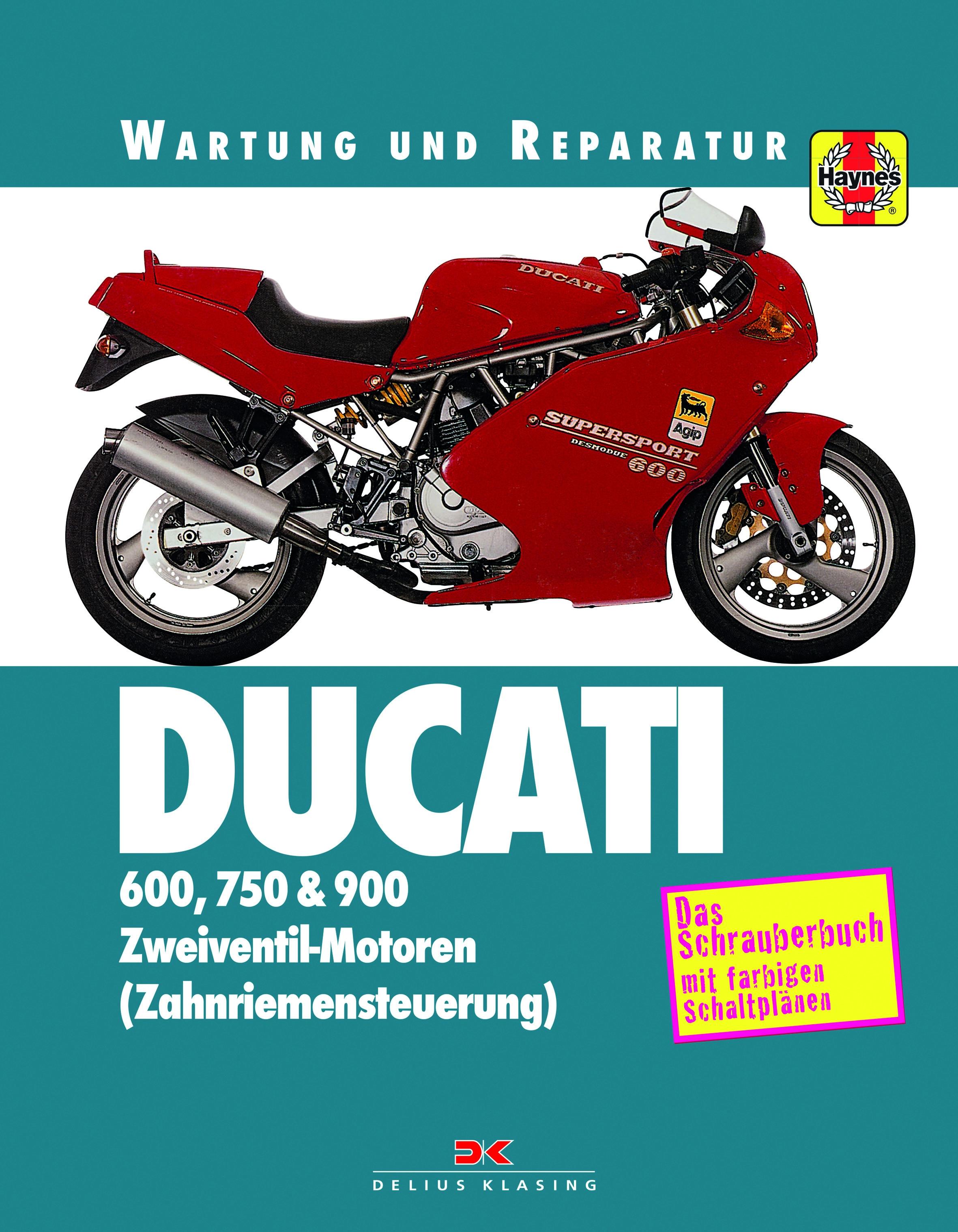 Ducati 600 / 750 / 900 M / SS Reparaturanleitung Wartung und Reparatur