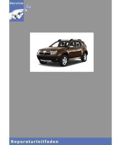 Dacia Duster  Motor 2,0L 16V F4R - Werkstatthandbuch
