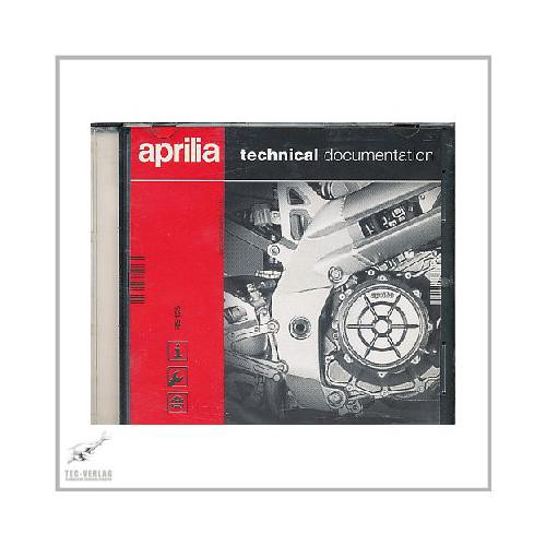 Aprilia Scarabeo 50 ie / 50 4T / 100 4T - Workshop manual CD