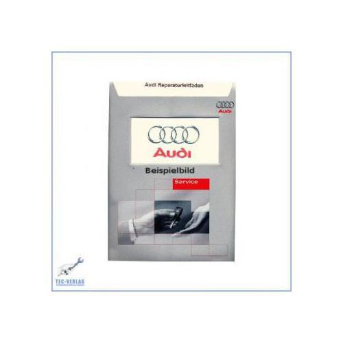 Audi 100 / A6 (>92) Reparaturleitfaden Mono-Motronic Einspritzanlage 2,0 L.74 kW