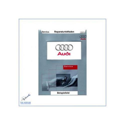Audi A3 8L (96-06) Reparaturleitfaden 5/6-Gang Schaltgetriebe 02M Allradantrieb