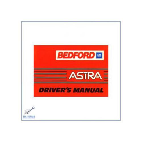 Bedford GM Astra (85>) - Bedienungsanleitung