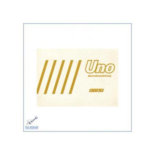 Fiat Uno (ab 1984) - Bedienungsanleitung