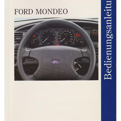 Ford Mondeo Betriebsanleitung