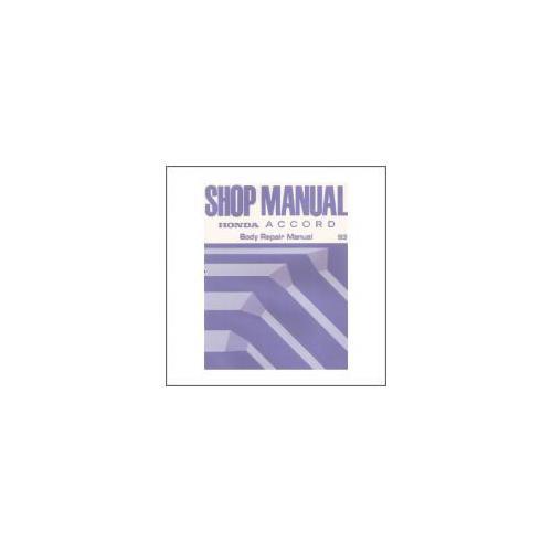 Honda Accord (93>) - Shop Manual