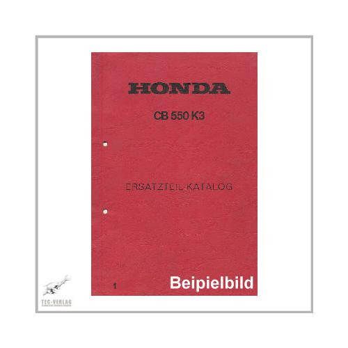 Honda CB 550 F - Ersatzteilkatalog