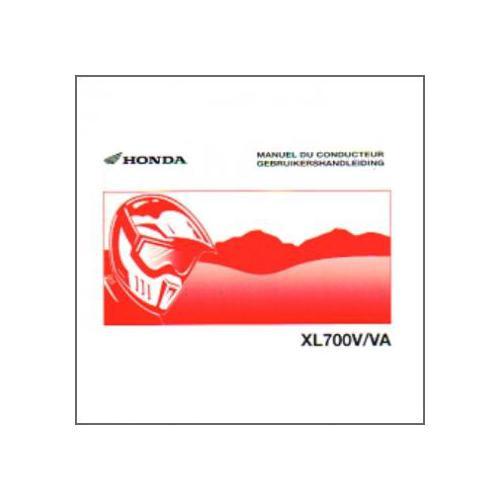Honda XL700V/VA ab 2007 - Bedienungsanleitung