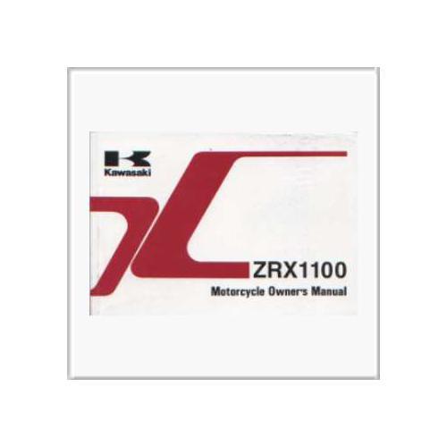 Kawasaki ZXR 1100 - Owner`s Manual