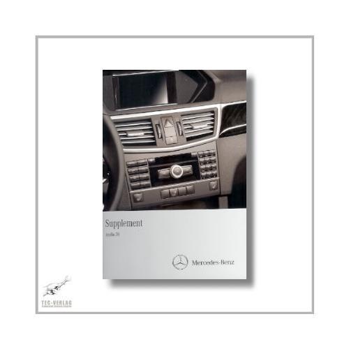 Mercedes-Benz E-Class (09>) Supplement Audio 20 2010