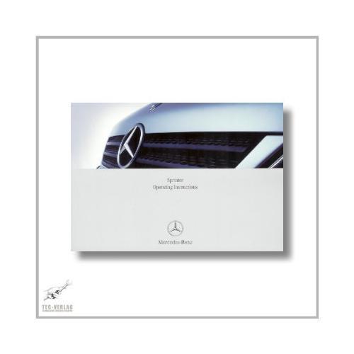 Mercedes-Benz Sprinter (95>) Operating Instructions 2004
