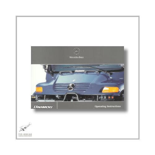 Mercedes-Benz Unimog (00>) Operating Instructions 2001