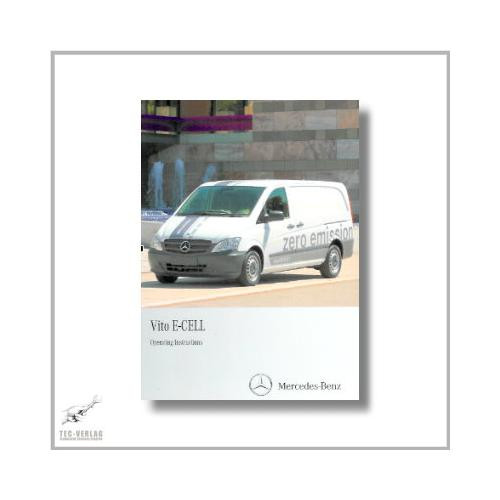 Mercedes-Benz Vito E-Cell (03>) Operating Instructions 2011