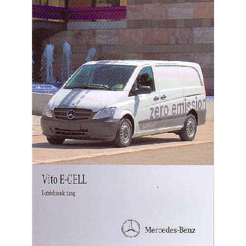 Mercedes Vito E-Cell Zero Emission - Betriebsanleitung
