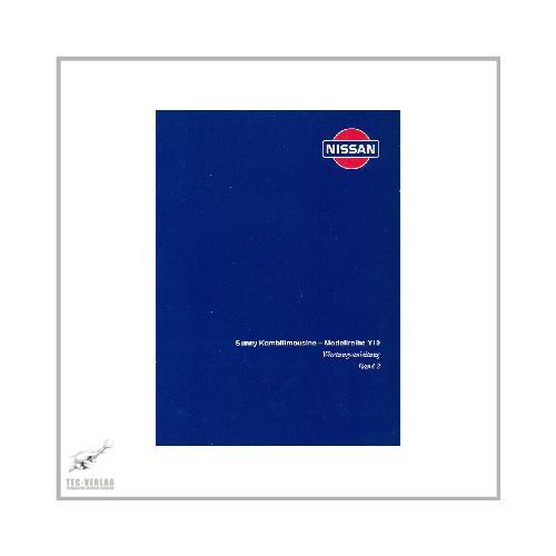 Nissan Sunny - Modellreihe Y10 (90-00) - Wartungsanleitung  Band 2