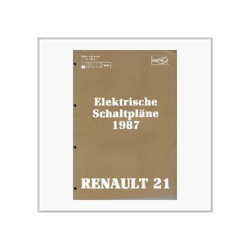renault 21 1987 schaltpl ne f r 22 00. Black Bedroom Furniture Sets. Home Design Ideas