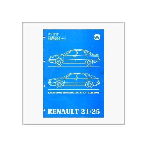 Renault 21/25 Kraftstoffeinspritz. - Werkstatthandbuch Nachtrag