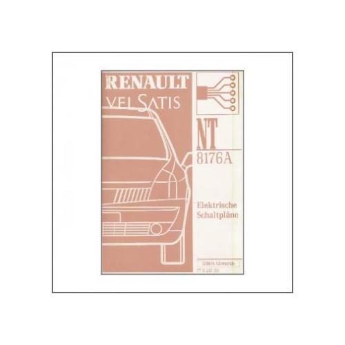 Renault Velsatis NT 8176A (>01) - Elektrische Schaltpläne für 42,00 ...